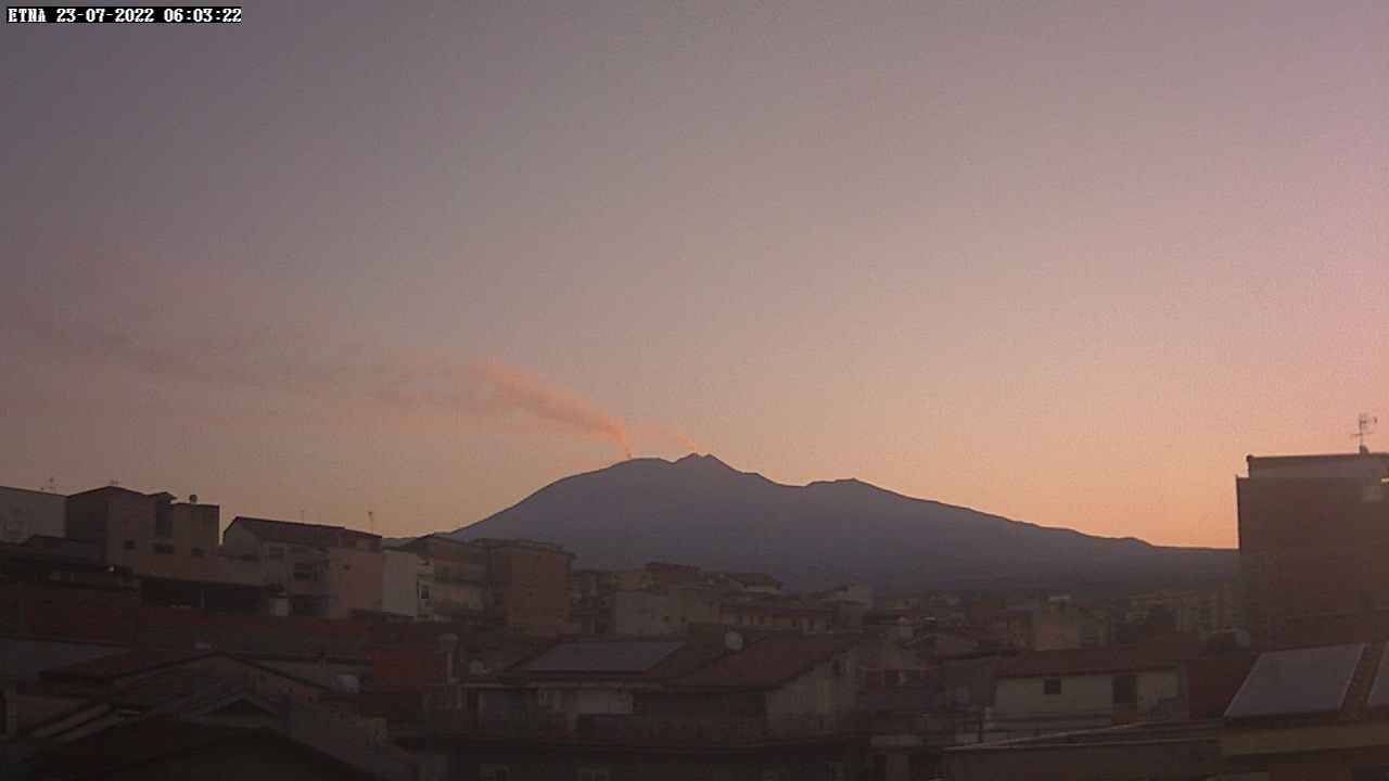 Volcano Etna webcam