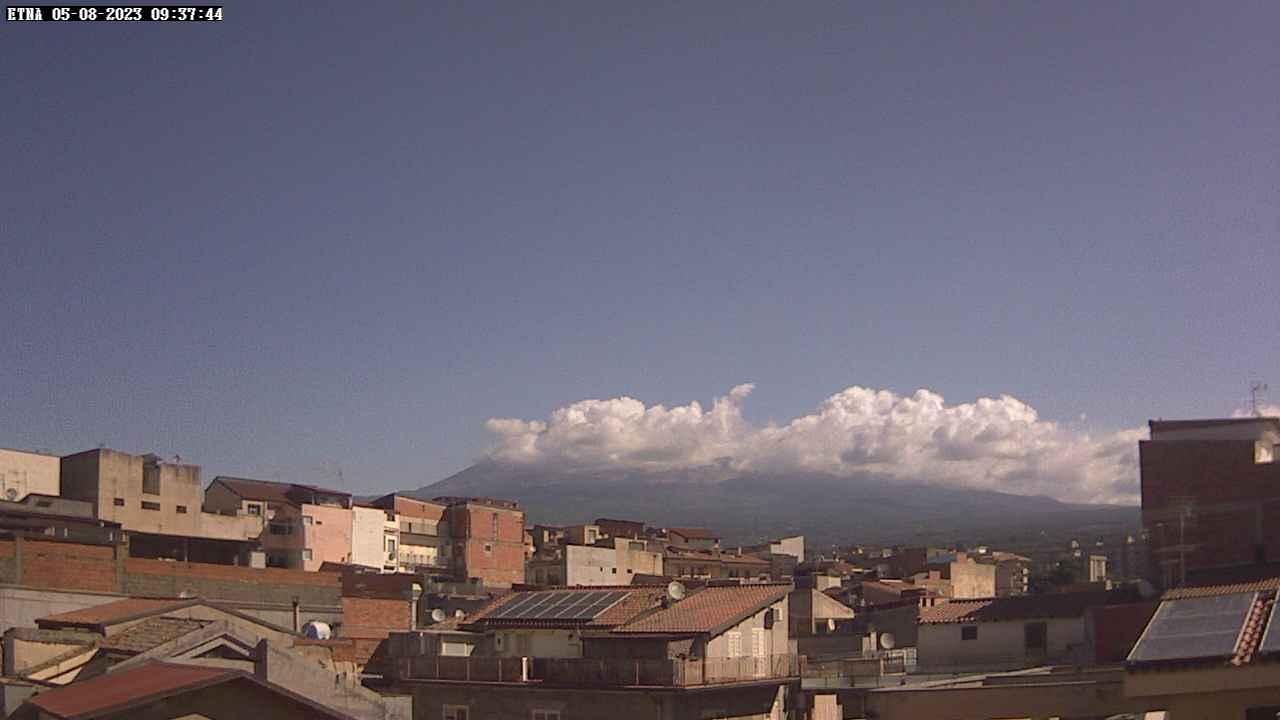 Webcam Etna da Paternò